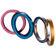 En Aluminium En métal Anneaux de Pénis Éjaculation Retardée Mâle Cock Ring de Sexe jouets pour Hommes Boitiers Retard Verrouillage Loops Homme Cockring Sexe produit