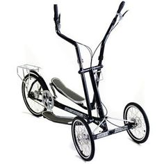 The Elliptical Bicycle - A uniquely designed exercise bike perfect for toning arms, legs and back muscles outside Workouts Outside, Fun Workouts, Striders, Low Impact Workout, Toned Arms, Cross Trainer, Back Muscles, Intense Workout, No Equipment Workout