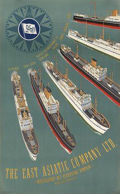 The east Asiatic Company LTD - 1950 -