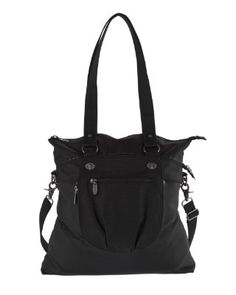 Baggallini Luggage Duet Tote, Black, One Size:Amazon: would love this for a carry on for Hawaii or any trip, 2 bags in 1 & it slips over your rolling luggage!