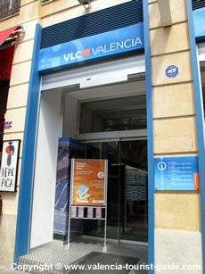 Tourist Information in Valencia - where you can purchase the Valencia Card