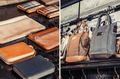 Bags and wallets from Property Of...  hipshop in Amsterdam. #hipshops #wallets #bags #accessories #design #propertyof