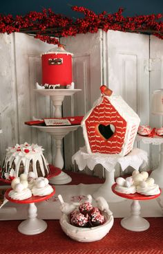 Birdcage Gingerbread House