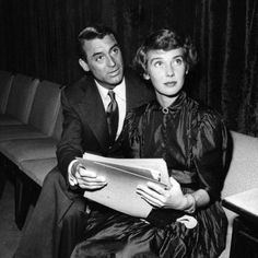 Cary Grant and third wife, Betsy Drake.They were married about a dozen years and made two movies together: 'Every Girl Should Be Married,' and 'Room for One More,'