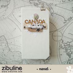 "lescrapananat: DT Zibuline , Mini album ""CANADA"" Mini Album Scrap, Mini Albums Scrapbook, Diy Scrapbook, Diy Photo, Minis, Travel Album, Pocket Letters, Book Journal, Altered Books"
