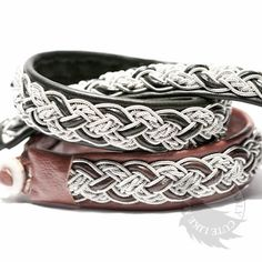Annica - Handmade leather bracelet