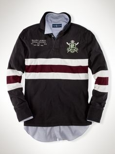 Long-Sleeved Stripe Rugby. Polo Ralph Lauren £145