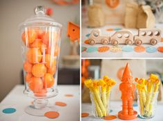 I love this party! the colors the decor. its all so cute!!!