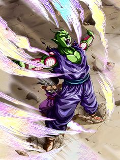"""[Budding Heart] Piccolo """"I'll get serious too!"""" """"Soon you won't be able to laugh like that anymore!"""""""