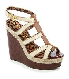 Jessica Simpson Wedges Available at Dillards.com #Dillards