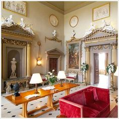 The great hall at Ditchley