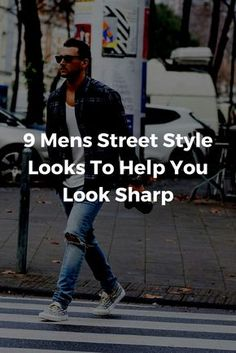 mens street style looks #mens #fashion #style