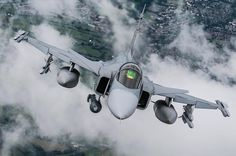 Swedish Air Force Saab JAS 39 Gripen.