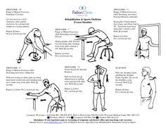 Shoulder Bursitis Physical Therapy Exercises | Rehabilitation Sports Medicine Frozen Shoulder