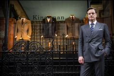 """In this image released by 20th Century Fox, Colin Firth appears in a scene from """"Kingsman: The Secret Service."""" (AP Photo/20th Century Fox, Jaap Buitendijk)"""