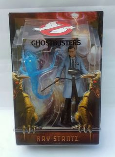 """Ghostbusters 2 Ray Stantz Matty Collector Figure 6"""" Ready To Believe You 2009  #Mattel"""