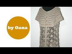 Crochet summer tunic - YouTube