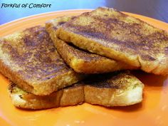 Snickerdoodle French Toast....ummm wonder what this taste like