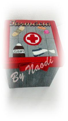 Caixa para medicamentos - patch sem agulha