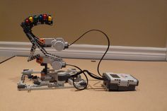 Turret made from the LEGO Mindstorm