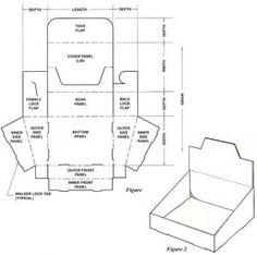 Tons of free box templates -boxtemplatestore.com