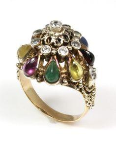 Vintage Princess Engagement Ring -