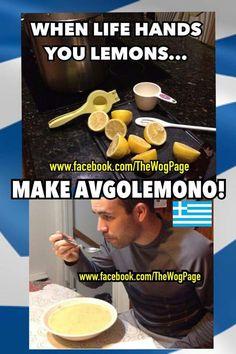 Lemons for Avgolemon...