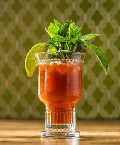 Bayou Bloody Mary Julep: Surely the 'Greatest Two Minutes in Sports' deserves a Bloody just as great. Hence the Bayou Bloody Mary Julep, a smooth combination of bourbon, mint, and sophistication, perfect for race day (or the big race).