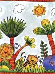 Image result for henri rousseau for kids