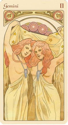 ☆ Gemini Astrological Oracle :¦: Artist  Antonella Castelli ☆