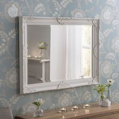 Mirror, mirror, on the wall. Shop these elegant styles now House Inspiration, Accent Mirrors, Home, House Flooring, Full Length Mirror Wall, Living Room Mirrors, Mirror, Sale Design, Home Decor