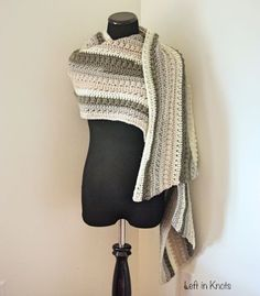 So warm and cozy, this super scarf drapes beautifully and is big enough to wear in many different ways! The next free crochet pattern in my Autumn Chill series. Crochet Shawls And Wraps, Crochet Cardigan, Crochet Scarves, Crochet Clothes, Caron Cakes Crochet, Free Crochet, Knit Crochet, Crochet Hats, Crochet Stitches