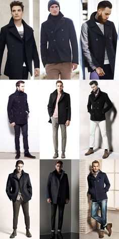 The 5 Staples Of French Style: 2. The Pea Coat Lookbook Inspiration
