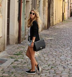 Black loafers | CzechChicks