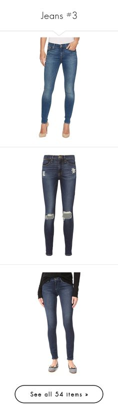"""""""Jeans #3"""" by csmiranda21 ❤ liked on Polyvore featuring jeans, slim fit skinny jeans, skinny jeans, ankle length skinny jeans, skinny ankle jeans, ankle zip skinny jeans, pants, dark denim, denim skinny jeans and dark denim jeans"""