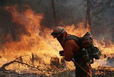 Thousands Battle California King Fire | Firefighter Nation