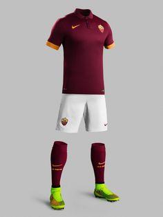 AS Roma 2014-15 Nike Home