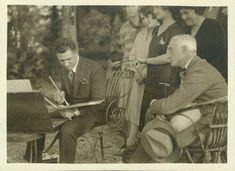 Anonymous, Casorati and Riccardo Gualino, 1930 ca.