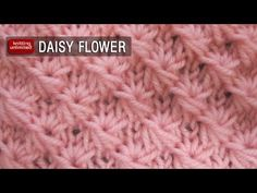 Daisy Flower Stitch (Similar To Star Stitch)