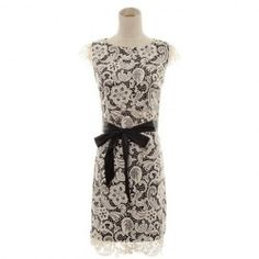 $18.12 Lace Splicing Ladylike Style Round Neck Polyester Dress For Women