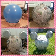 DIY Minnie/Mickey Piñata