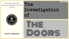 The Investigation of Jim Morrison and the Doors ~ HistoryDojo