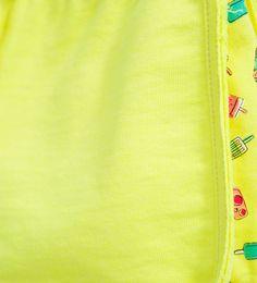 Ice-cream and pineapple shorts