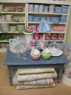 fabric shop #miniature