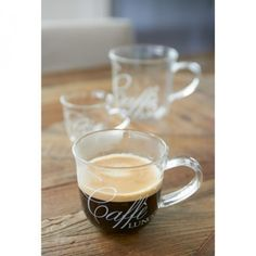 Caffè Lungo Glass Riviera Maison