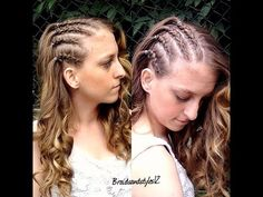 HOW TO DO CORNROWS ON YOUR OWN HAIR