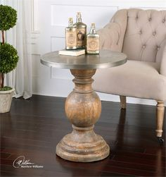 Uttermost Blythe Accent Table