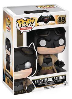POP - Heroes  Series BVS - Nightmare Batman POP Figure