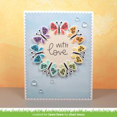 Hello and Welcome to our March Inspiration Week! We are showcasing 6 new    stamp sets, 10 stand alone die sets and our Watercolor Wish...
