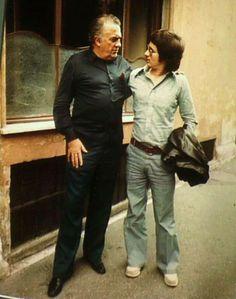 Federico Fellini and Steven Spielberg